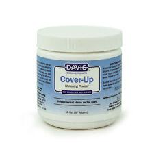 Davis Cover-Up Powder Whitening Powder for Dogs 16 Oz.