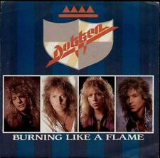 "DOKKEN Burning Like A Flame  7"" Ps, Usa Issue, B/W Lost Behind The Wall, 7-69435"