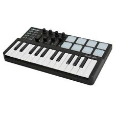Midi Controller Portable 25 Key Usb Keyboard And Drum Pad Mini Set Professional