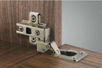 Klappenscharnier Klappenband Topfband für Holzklappen Ø 35 mm mit Platte 95°