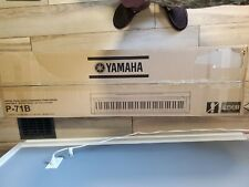 Yamaha P71B 88-Key Weighted Action Digital Piano Sustain Pedal See Dscrptn save$
