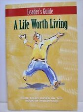 A Life Worth Living: Leaders Guide by Nicky Gumbel
