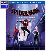 SPIDER-MAN: INTO THE SPIDER-VERSE 3D + 2D + BONUS DISC + SLIPCOVER (REGION FREE)