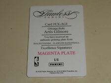 2017-18 Panini National Treasures Flawless Printing Plate Artis Gilmore 1/1