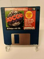 Disk 110 Ultimate Soccer Manager CU Amiga Cover Disk TESTED