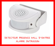 DETECTEUR PRESENCE MOUVEMENT INFRAROUGE ALARME CARILLON POUR HALL MAISON MAGASIN