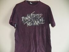 VINTAGE 1980s PINK FLOYD THE WALL 1982 TOUR ROCK CONCERT TIE DYE T-SHIRT LARGE
