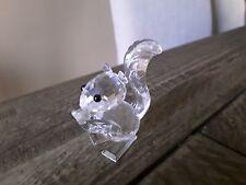 New ListingSwarovski Crystal Squirrel with Nut Figurine