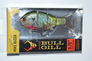 """Catch co mike bucca's baby bull gill swimbait 3.75"""" slow sinking ruby gill"""