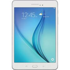 """Samsung  Galaxy Tab A 8.0"""" 16GB Wi-Fi Tablet Quad-Core 1.5GB RAM in White"""