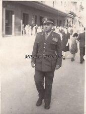 da SALERNO: fotocartolina privata (militare in divisa) 1950