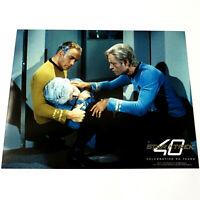 """WILLIAM SHATNER & DEFOREST KELLEY - STAR TREK 8x10 PHOTOGRAPH TOS """"Deadly Years"""""""