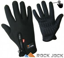 Mens Women Thermal Warm Fleece Lined Gloves Insulated Touchscreen Sports Driving