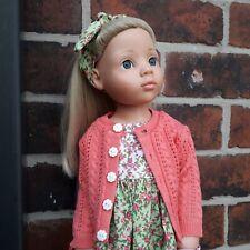 """American girl doll cardigan also fits Gotz hannah 18"""" doll"""