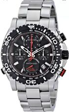 Bulova 98B212 Precisionist Chronograph Black Dial S/Steel Tachymeter Msrp $895