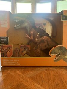 NEW Animal Planet Interactive T-Rex Dinosaur Toy Kids Play 8 Exciting Dino Sound