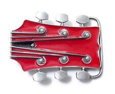Guitar Head Belt Buckle 14048 new music dance belt buckles