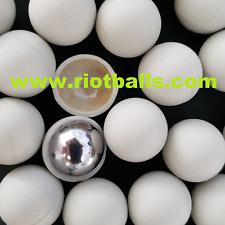 Glass Breaking Balls Paintball .68 cal Paintballs 50rd rubber / metal balls 12 g