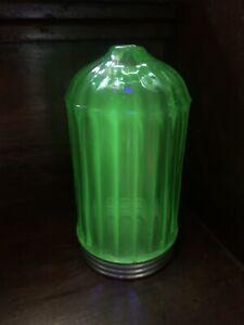 Uranium Green Depression Glass Paden City #94 Bullet Sugar Shaker