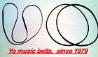 3 belts set for Pioneer CT-F9191 cassette tape deck belt kit with 2 YEAR WARANTY