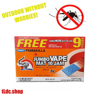 MOSQUITO EFFECTIVE REPELLANT MAT TABLET REFILL.THERMACELL.ARS MAT12 30 - 250 PCS