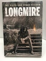 Longmire The Sixth and Final Season (DVD, 2018) - NEW SEALED