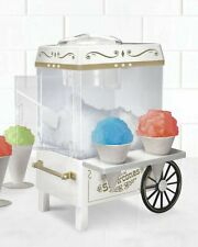 Commercial Nostalgia Snow Cone Machine Maker Electric Carnival Party Ice Slushy