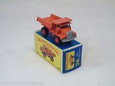 Matchbox Lesney # 28 Mack Dump Truck  NM/boîte (#MBB)