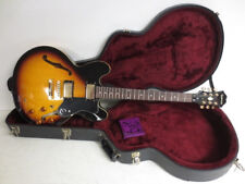 2011 Epiphone Dot Deluxe VS Electric Semi Hollow Guitar Sunburst W/ Hard Case