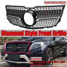 For Mercedes Benz GLK X204 GLK250 GLK350 2013-2015 Diamond Front Grille Grill