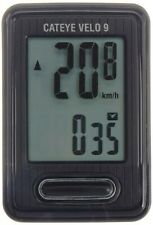 CAT EYE CC-VL820 Velo 9 Cycle Computer Wired Speedometer Black CATEYE Japan*