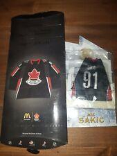 McDonalds 2006 Team Canada Hockey Mini Jersey Joe Sakic