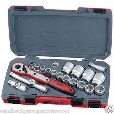 """Teng Tools 20 Piece 1/2"""" Drive AF Socket Set 12 Point T1220AF"""