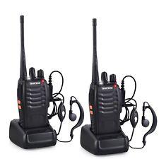 talkie walkie Baofeng BF-888S 2PCS UHF 400-470MHZ 2 voies Radio 16CH 5W