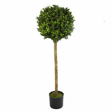 120cm (4ft) Artificial Boxwood Buxus Ball Topiary Tree LEAF-7172