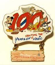Disney Wdw Castmember 100 Years of Creating the Magic Pin #11002