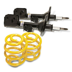Front Shock Absorbers Lowered King Springs for HYUNDAI GETZ TB 1.3 1.4 1.5 1.6