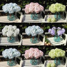 Centerpiece Bridal Hydrangea Decoration Garden Wedding Single Silk Flowers Craft