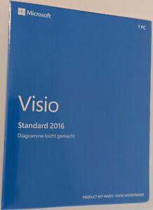 Microsoft Visio Standard 2016 - Deutsch - NEUWARE
