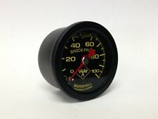 "Marshall 1.5"" Direct Mount Liquid Filled Fuel Pressure Gauge, MNB00100"