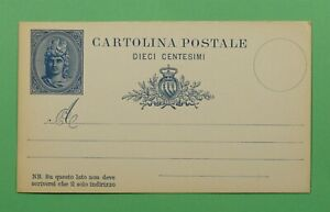 DR WHO SAN MARINO POSTAL CARD UNUSED C236682