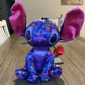 Stitch Crashes Disney Beauty and The Beast January Plush