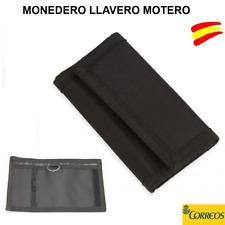 MONEDERO LLAVERO MOTERO - LLAVEROS PARA MOTO EN COLOR NEGRO - CARTERA -