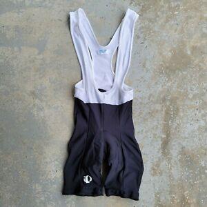 Vintage Pearl Izumi Technical Wear White/Black Men's Cycle Bib Shorts Size M USA