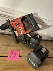 Hilti Te 6a Sds Hammer Drill Cordless Battery Heavy Duty 36v (c) 99p