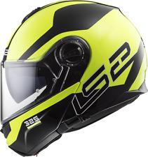 LS2 Helmet Bike Flip-up Ff325 Strobe Zone Black Hi Vis Yellow L