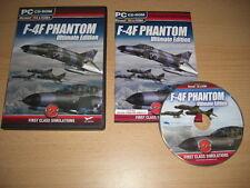 F-4F PHANTOM Ultimate Edition Pc Add-On Flight Simulator Sim 2004 X FS2004 FSX