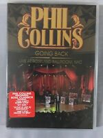 Phil Collins Going Back Live At Roseland Ballroom NYC DVD NEW SEALED CONCERT