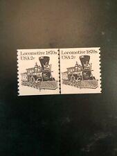 Scott #1897a Transportation Series Coil Pairs MNH