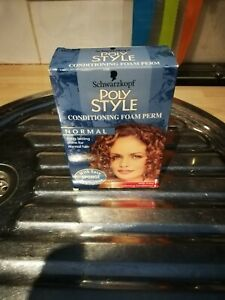 BNITB SCHWARZKOPF POLY STYLE CONDITIONING FOAM PERM,NORMAL HAIR STYLING 99P